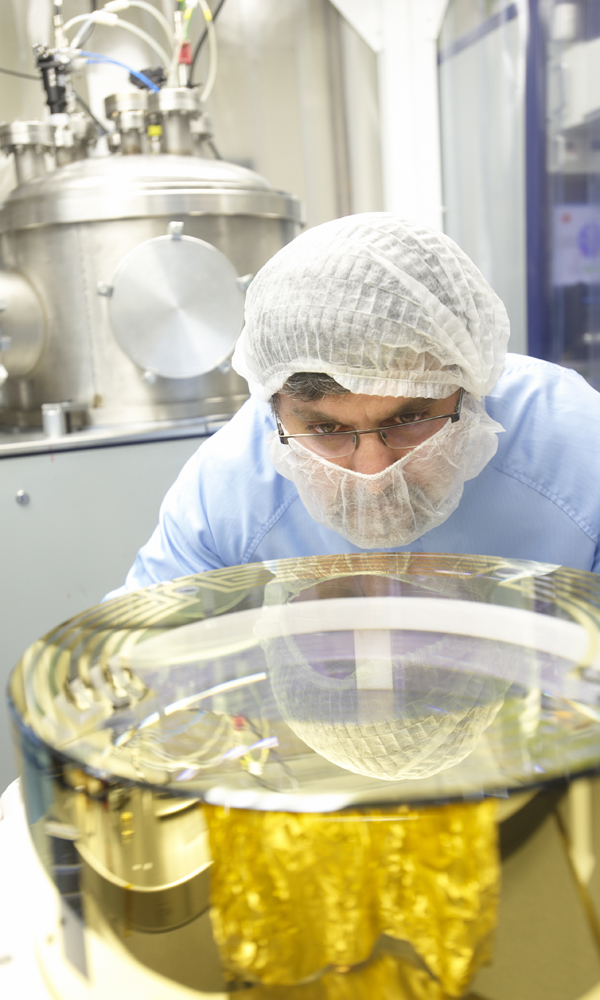 LIGO optics coated by CSIRO.
