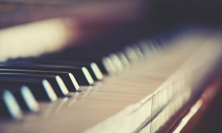music piano stock image