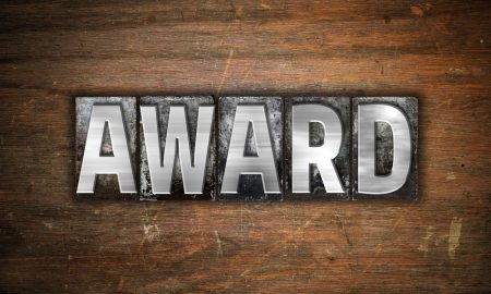 award stock image