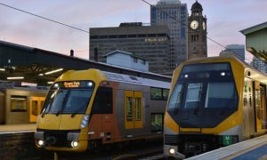 Sydney trains platform. Image courtesy of iMOVE CRC