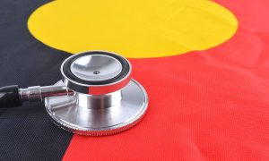 health aboriginal stock image