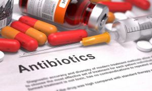 antibiotics stock image