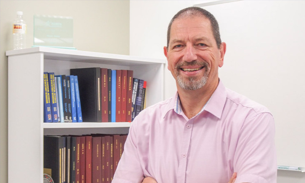 USQ's Professor Stuart Biddle has been listed in the annual Highly Cited Researchers 2018 List, for ranking in the top 1% by citations for his field of research. Image courtesy of USQ