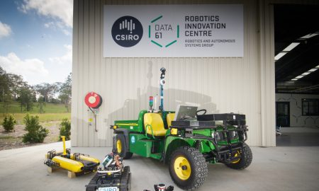 Robotics and autonomous systems technologies, underpinned by machine learning and artificial intelligence, will unlock new value in all manner of sectors including manufacturing, agriculture, healthcare and mining. ©CSIRO, Navinda Kottege