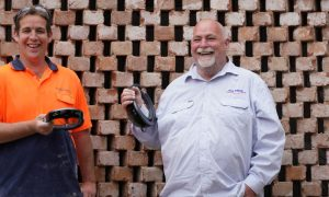 augmented reality bricklaying the fence march 2019