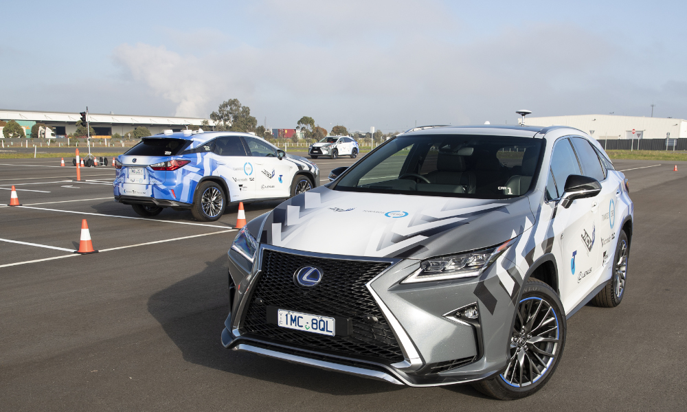 Lexus participating in high-tech trial aimed at reducing road trauma (Lexus RX 450h F Sport shown)