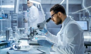 forensic science stock image