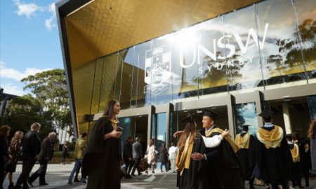 UNSW has 22 subjects ranked in the top 50 globally. Photo credit: Richard Freeman