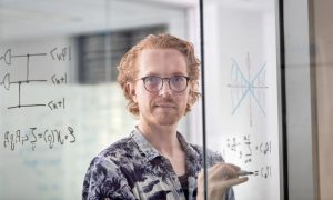 Dr Arne Grimsmo from Sydney Nano and the School of Physics. Photo- Stefanie Zingsheim