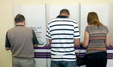 Australians at the polls. Image; Australian Electoral Commission