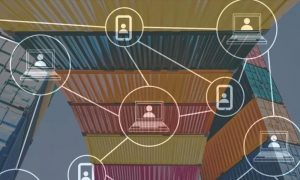 blockchain-integrated container shipping systems