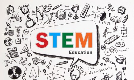stem education stock image
