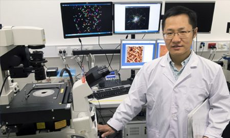 Associate Professor Qiaoliang Bao has found that antimonene, a 2D material, has improved sensitivity than graphene in the detection of DNA and MicroRNA molecules related to cancer.